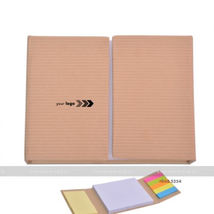 Personalized 2 Door Sticky Note with Pad
