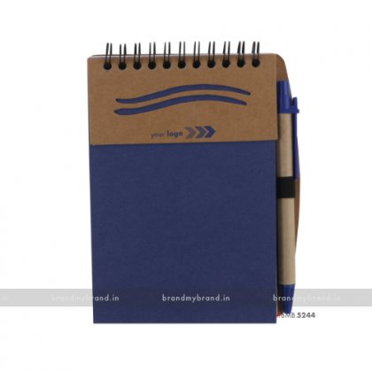 Personalized Blue Wiro Notepad