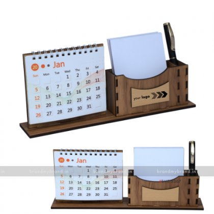Personalized MDF Table Top With Calendar