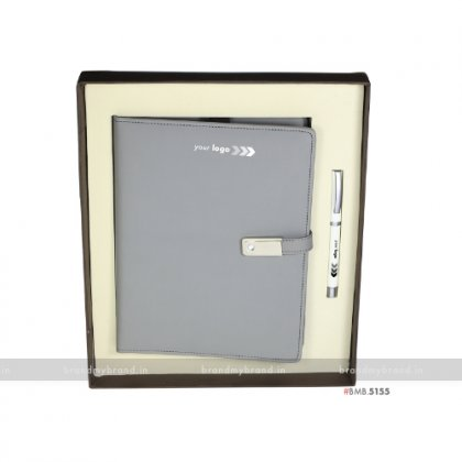 Personalized Pendrive Notebook with Pen