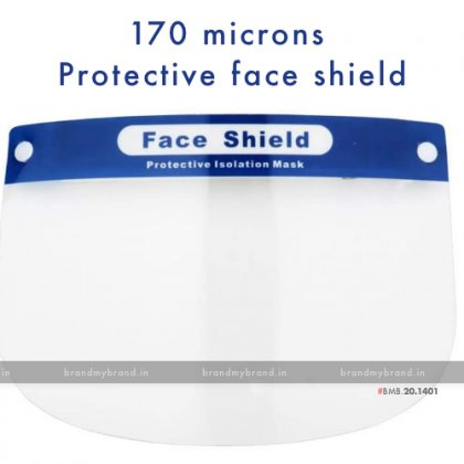 170 microns Protective face shield