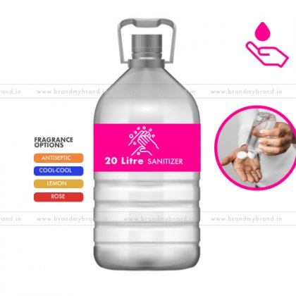 20 Litre Gel Form - Hand Cleanser Sanitizer (Pet Bottle)