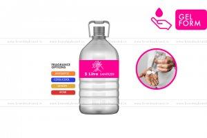 5 Litre Gel Form - Hand Cleanser Sanitizer (Pet Bottle)