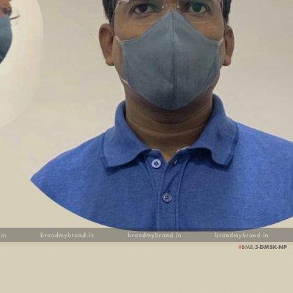 Organic Bamboo Cotton Washable & Reusable Mask