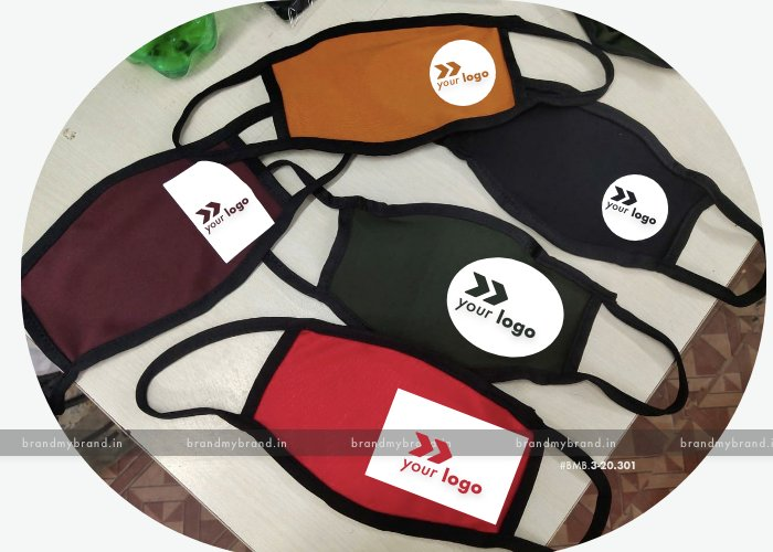 Cutomized promotional cloth mask with your logo