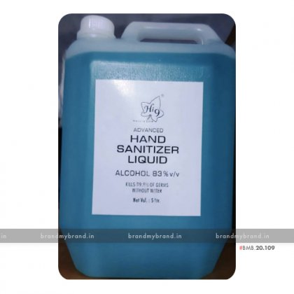 Hand Sanitizer Liquid 5 Litre