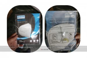 KAMCARE - KN95 / FFP2 Dust and haze proof ear-loop mask with respirator