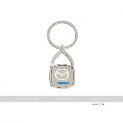 Personalized Mazda Keychain
