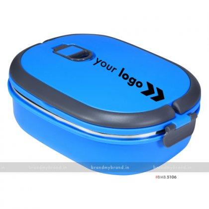 Personalized Blue Matt Big Lunch Box