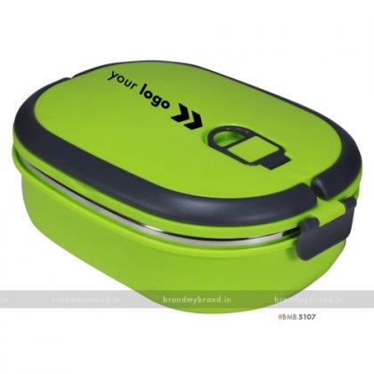Personalized Green Matt Big Lunch Box