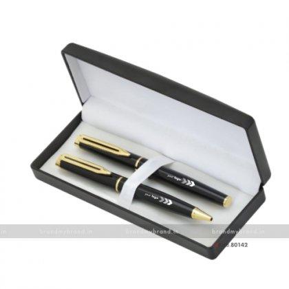 Personalized Metal Pen Set- Dinner Club International