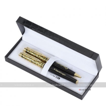 Personalized Metal Pen Set- Mark Logic
