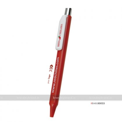 Personalized Promotional Pen- Red Chilli