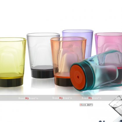 Personalized Party Suction Cup (290 Ml) Set Of 6 Pcs.