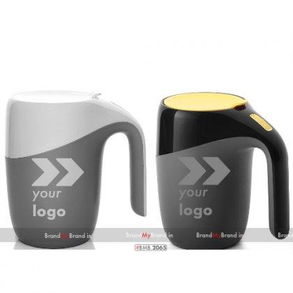 Personalized Elephant Suction Mug (400 Ml)