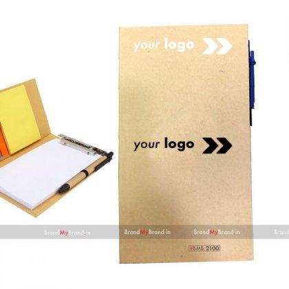 Personalized Eco Clip Board Set
