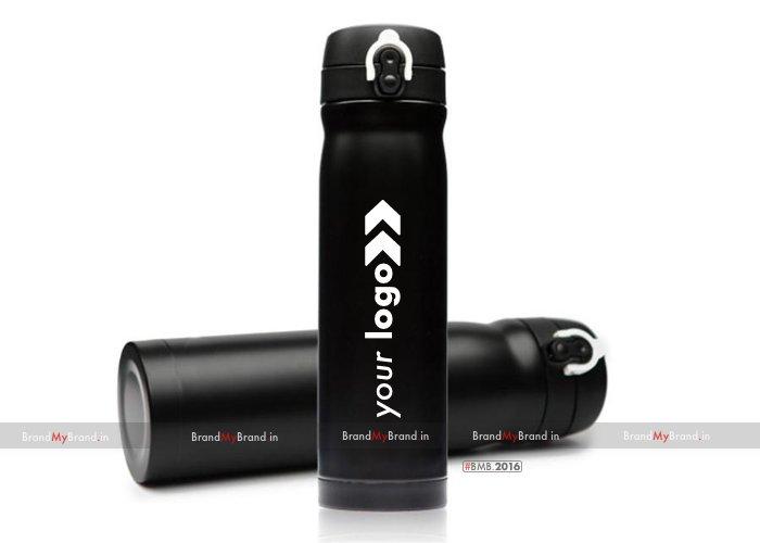 Personalized Matt Finish Flask Black (500 Ml)