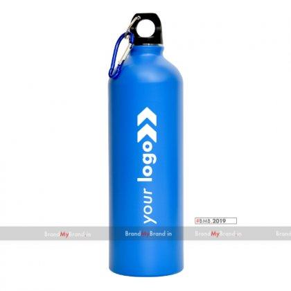 Personalized Sports Bottle Matt Blue (750 Ml)