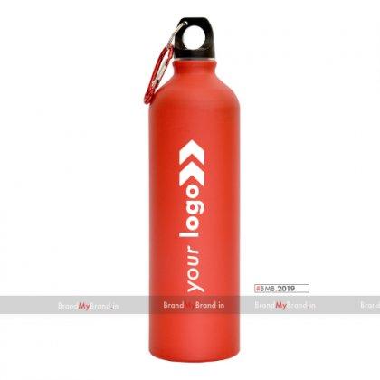 Personalized Sports Bottle Matt Red (750 Ml)