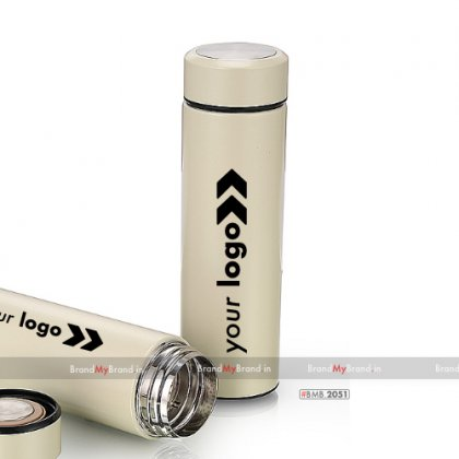 Personalized Tea Flask With Strainer (400 Ml)