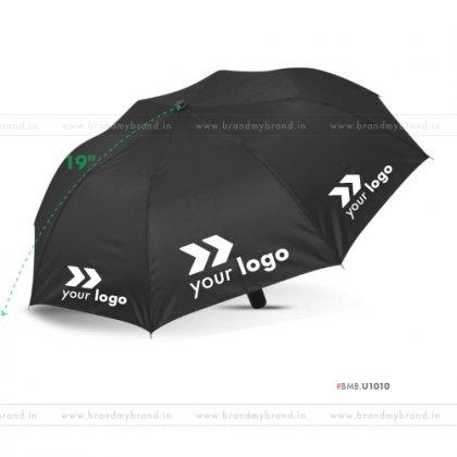 Black Umbrella -21 inch, 2 Fold