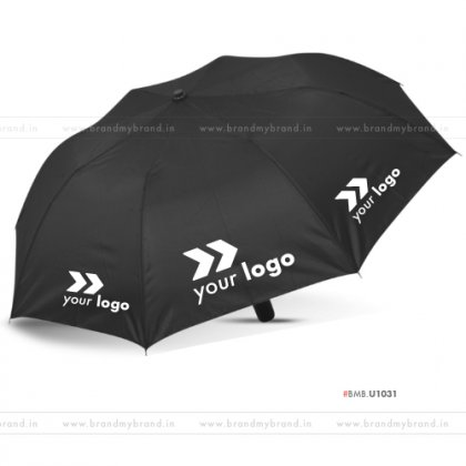 Black Umbrella -24 inch, 2 Fold