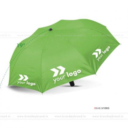 Bright Green Umbrella -21 inch, 2 Fold