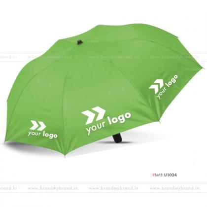 Bright Green Umbrella -24 inch, 2 Fold