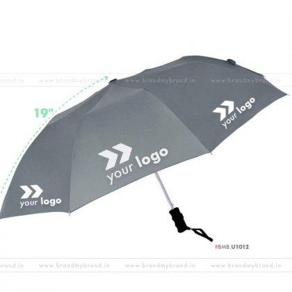 Gray Umbrella -21 inch, 2 Fold