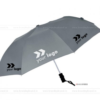 Gray Umbrella -24 inch, 2 Fold