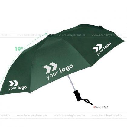 Green Umbrella -21 inch, 2 Fold