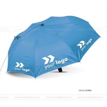Light Blue Umbrella -21 inch, 2 Fold