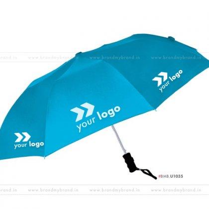 Light Blue Umbrella -24 inch, 2 Fold