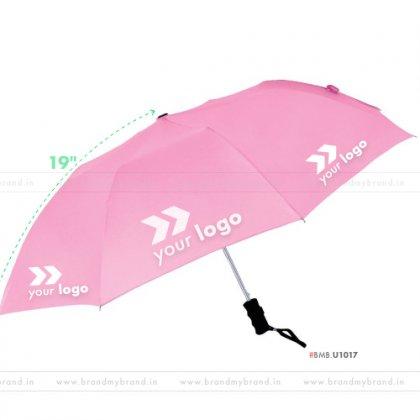 Pink Umbrella -21 inch, 2 Fold