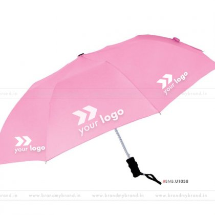 Pink Umbrella -24 inch, 2 Fold