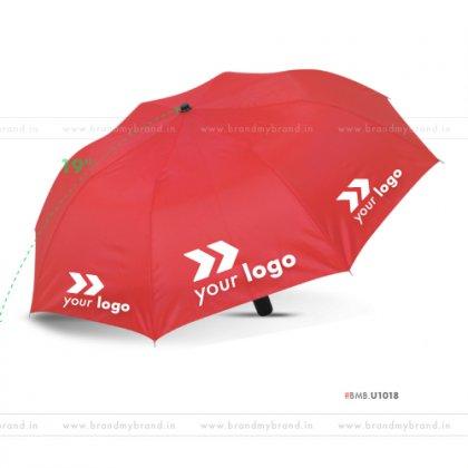 Red Umbrella -21 inch, 2 Fold