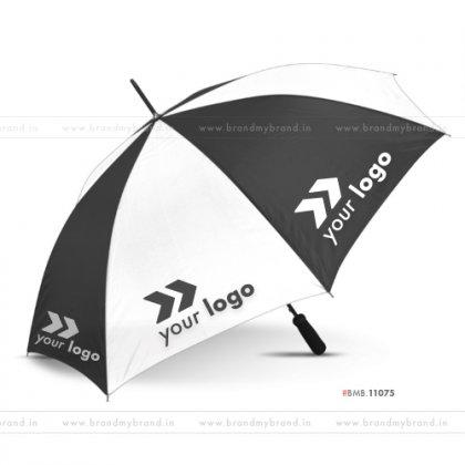 White and Black Golf Umbrella -24 inch