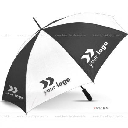 White and Black Golf Umbrella -30 inch