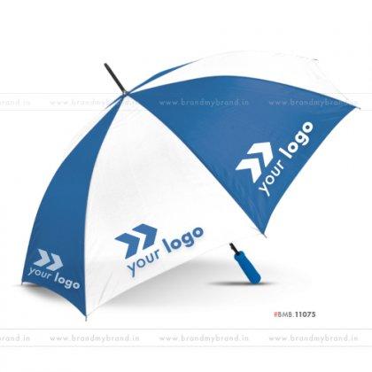 White and Dark Blue Golf Umbrella -24 inch