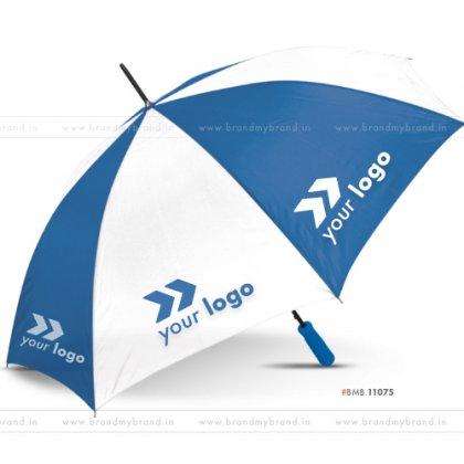 White and Dark Blue Golf Umbrella -30 inch