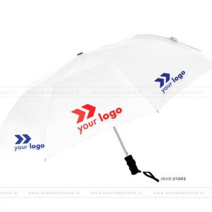 White Umbrella -24 inch, 2 Fold