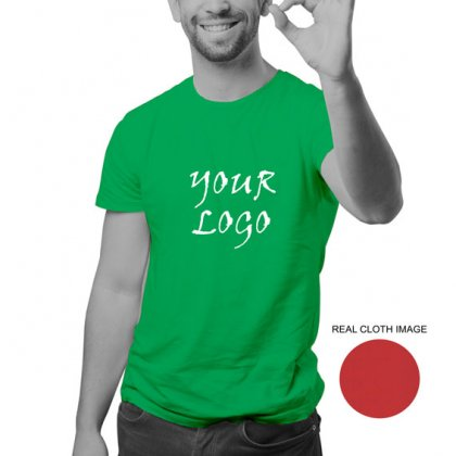 Personalized Parrot Green Promotional T-Shirt (Round Neck) / Micro Polyster - Dry Fit