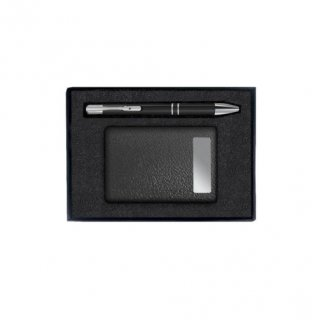 Gift Set Of Two (Card Holder An Pen)