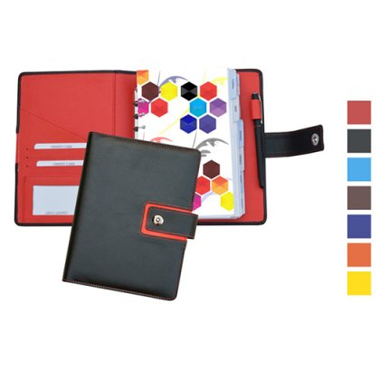 Personalized Executive Business Organizer With 1 Date Refill & Pen