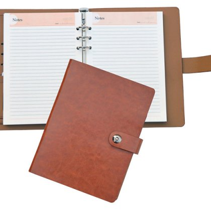 Personalized A 5 Executive Undated Organiser With Swarovski Pen (250 Pages)