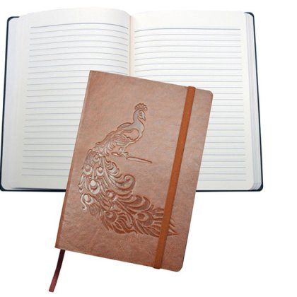 Personalized A 5 Designer Dateless Notebook (200 Pages)