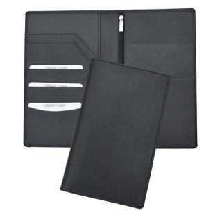 Personalized Passport & Travel Wallet - Leatherette