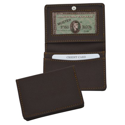 Personalized Card Holder - Leatherette