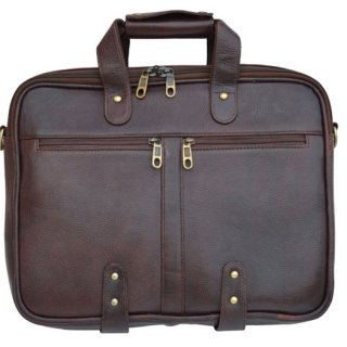 Personalized Laptop Bag - Genuine Leather