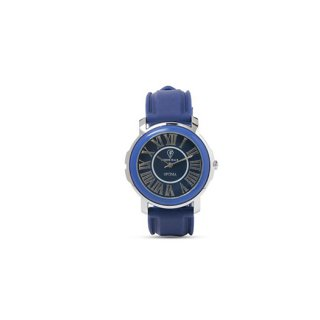 Personalized Blue Analog Watch